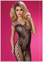 LivCo Corsetti Bodystocking Althina - Black (S/L)
