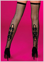 LivCo Corsetti Campbell Stockings - Black (S/L)