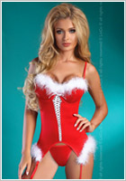 LivCo Corsetti Christmas Angel Christmas Costume (L/XL)
