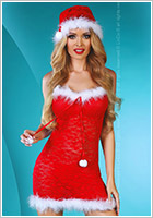 LivCo Corsetti Christmas Star Weihnachts-Kost�m (L/XL)