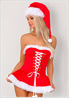 LivCo Corsetti Riveria Christmas Costume - 3 pieces (L/XL)