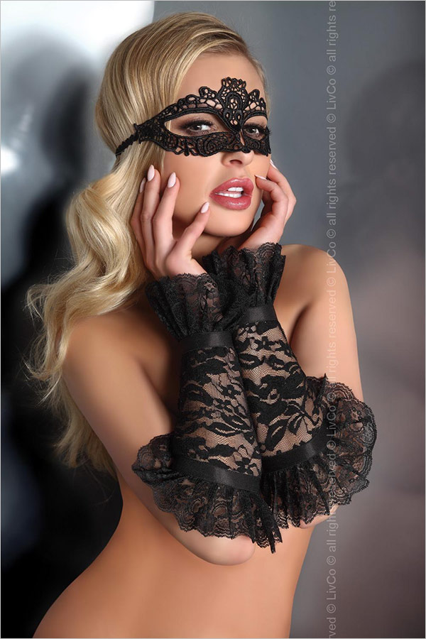 LivCo Corsetti Model 13 Sexy Gloves - Black (S/L)