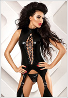 Lolitta Horny Bodystocking - Black (S/M)