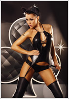 Lolitta Kitty Costume - Black (S/M)