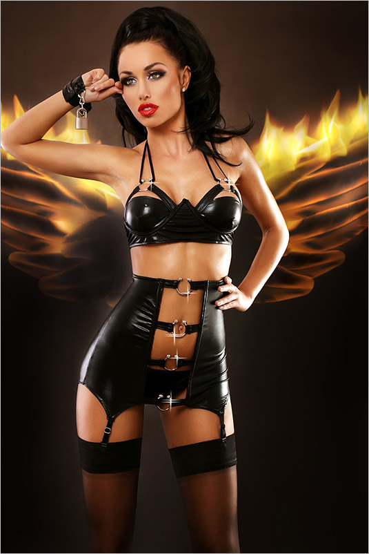 Lolitta Gothic Set - Black (L/XL)