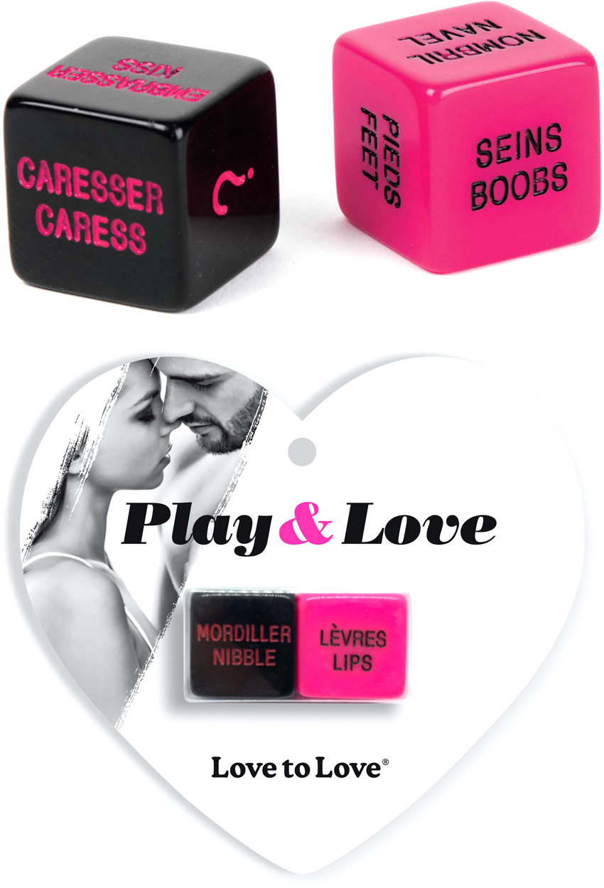 Mini Love'D Play & Love Dice (French/English)