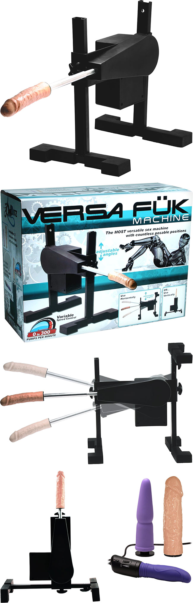 LoveBotz Versa Fuk Sex Machine
