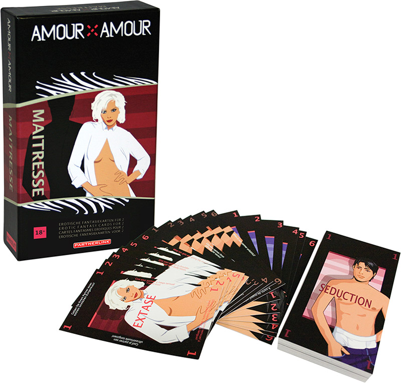 Amour X Amour Maîtresse Erotic Card Game (Multilingual)