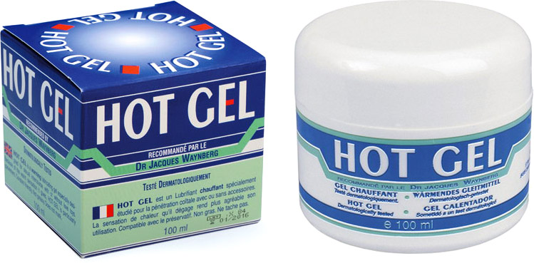 Lubrix HOT Gel Warming Lubricant Gel - 100 ml