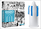EGZO stimulating condom - Cocky Friend Medium (1 Condom)