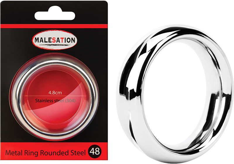 Malesation Metal Cockring - 48 mm