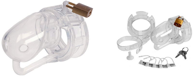 MaleSation Silicone Chastity Cage CB6000 (S)