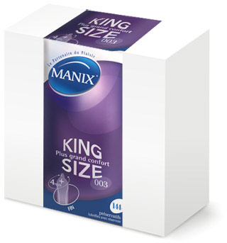 Manix King Size - XL (144 Condoms)