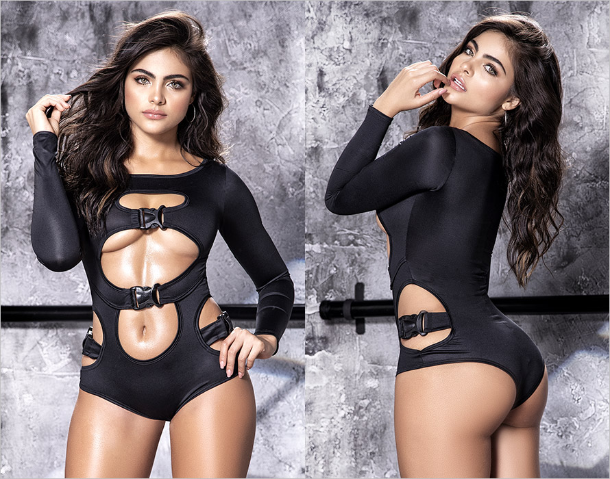 Mapalé Body 8510 - Black (S/M)