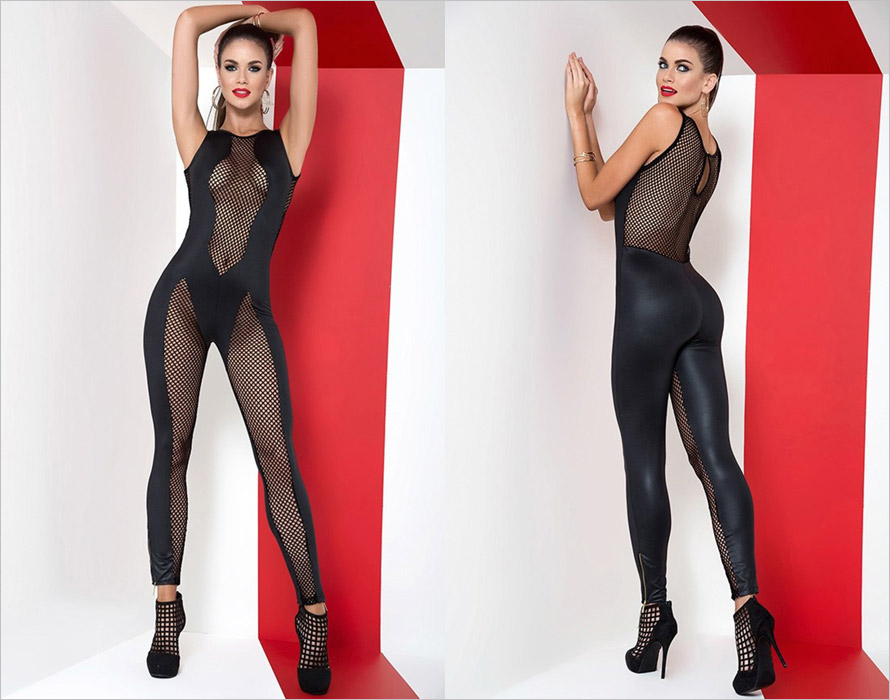 Mapalé 2543 Bodysuit - Black (XL)