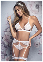 Mapalé 8357 Bridal set - White (M/L)