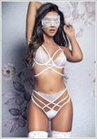 Mapalé 8358 Bridal set - White (M/L)