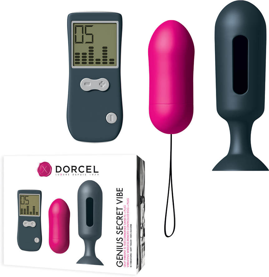 Marc Dorcel Secret Vibe Remote Control Egg (with Genius Plug)