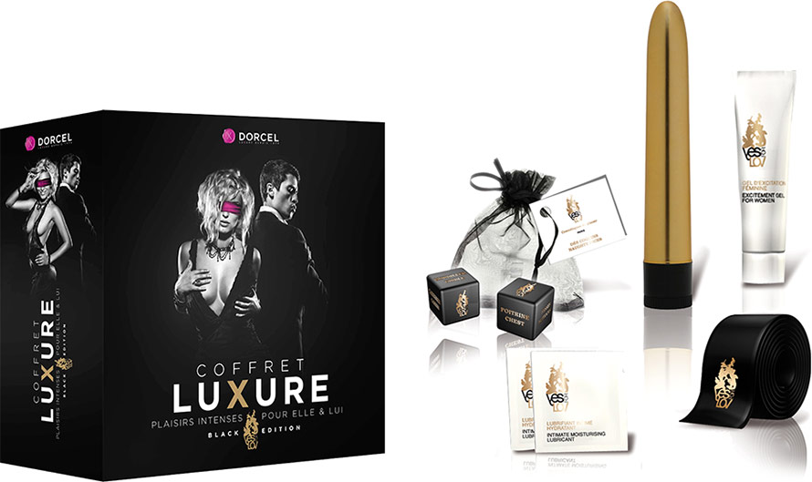 Dorcel Luxure Box Black Edition - Pleasure for her & him