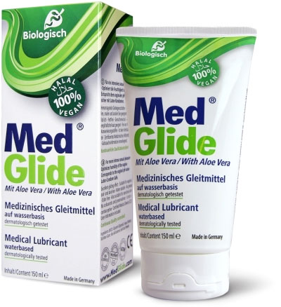 MedGlide Bio Lubricant with Aloe Vera - 150 ml (water based)