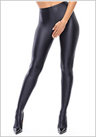 MissO P800 open crotch Pantyhose - Black (M)