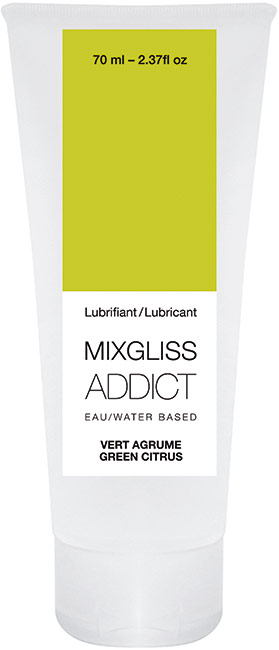 MixGliss ADDICT Green Citrus Lubricant - 70 ml (water based)