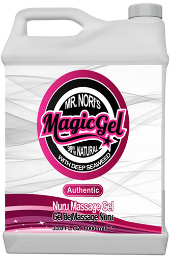 Gel de massage corps-à-corps Magic Gel NURU - Authentique - 1 l
