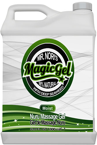 Gel de massage corps-à-corps Magic Gel NURU - Moist - 1 l