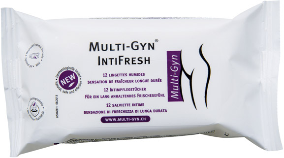 Multi-Gyn IntiFresh - 12 intimate wet wipes