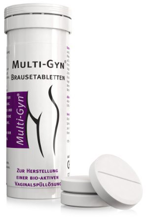 Multi-Gyn effervescent tablets for intimate douching (10 pcs)