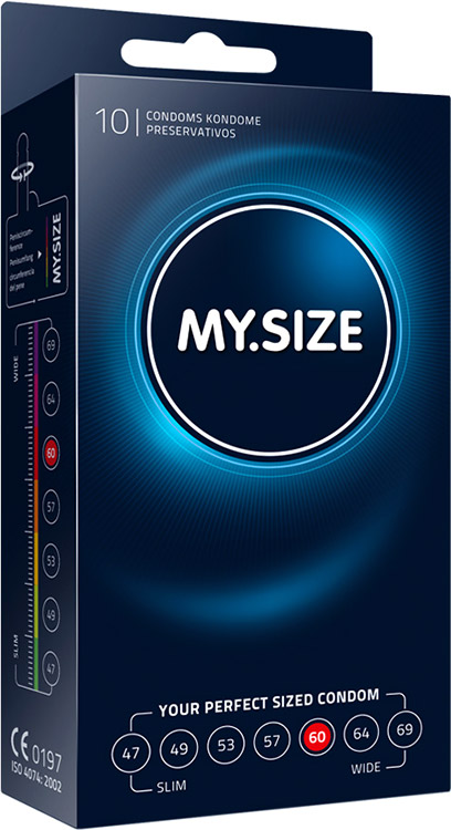 My Size Custom Fit Condoms - Size 60 (10 Condoms)