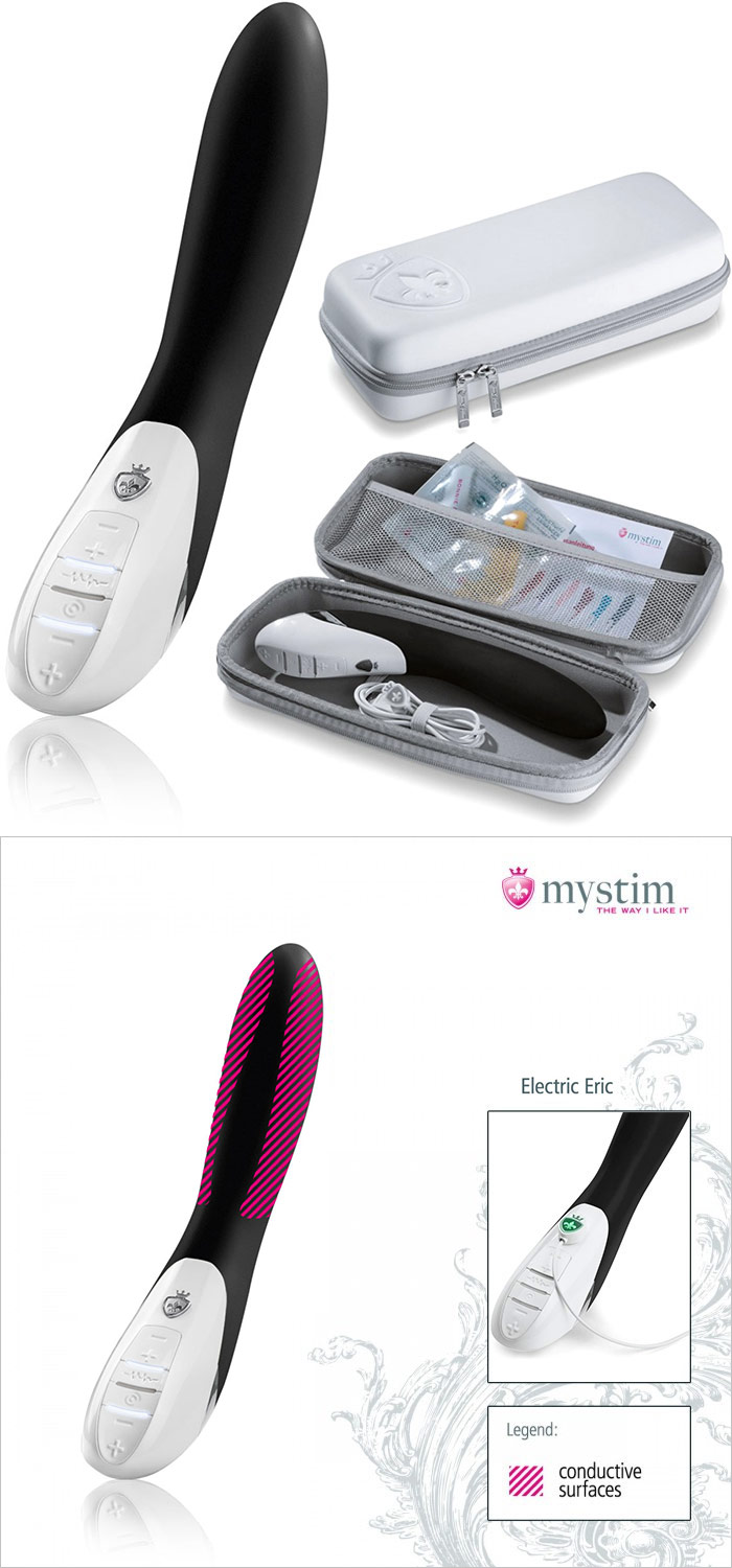 Mystim Electric Eric E-Stim Vibrator (with electrostimulation)