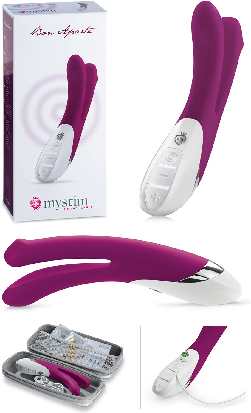 Mystim Bon Aparte Two-part shaft Vibrator