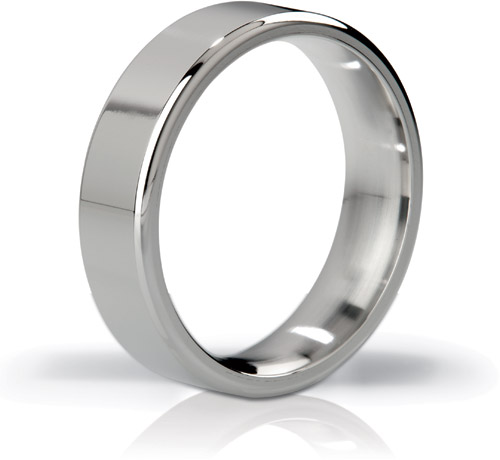 The Duke Stainless Steel Cock Ring - 48 mm