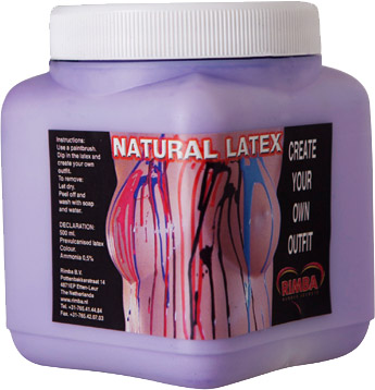Natural Liquid latex - 450 ml (Purple)
