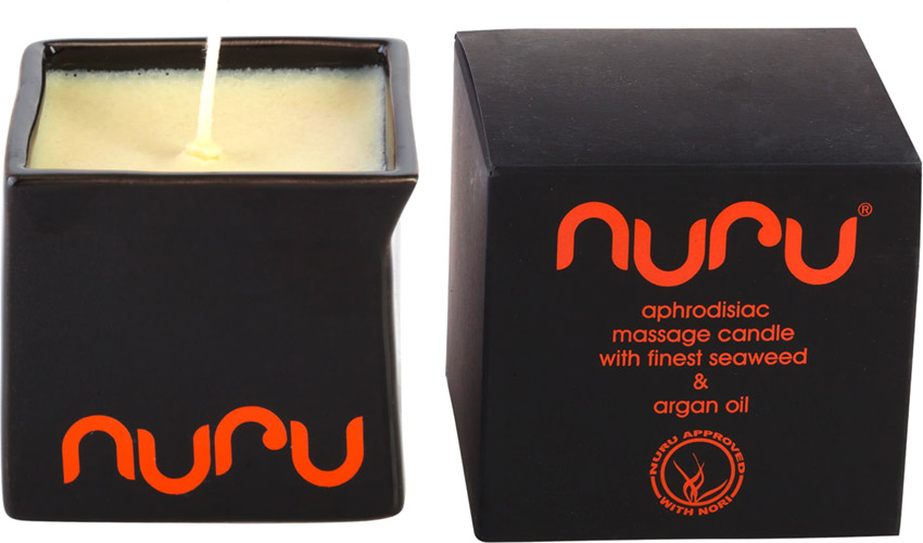 Nuru Massage Candle - Seaweed & argan oil