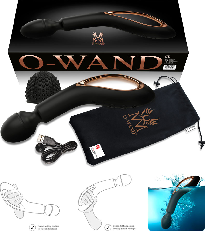 O-Wand v2 - Bacchetta vibrante wireless ultra potente