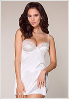 Obsessive Nuisette & String 871 - Blanc (L/XL)