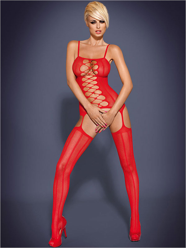Obsessive Bodystocking G300 - Red (XL/XXL)