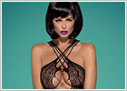 Obsessive Bodystocking G313 - Black (S/M/L)