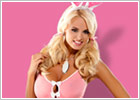 Obsessive Bunny Suit Costume - Pink & white (S/M)