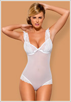 Obsessive Julitta Body - White (L/XL)