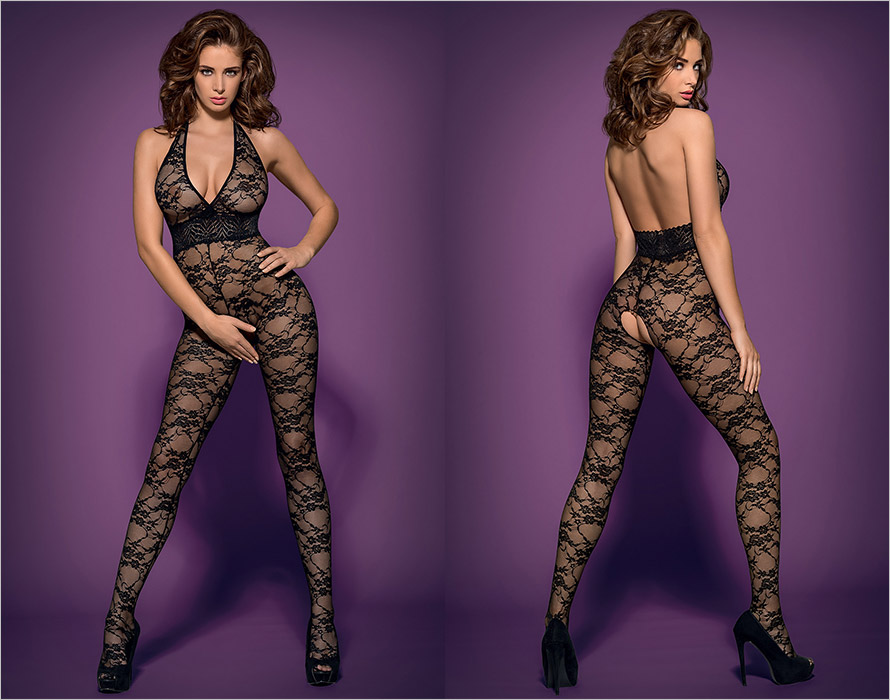 Obsessive Bodystocking L400 - Black (XXL)