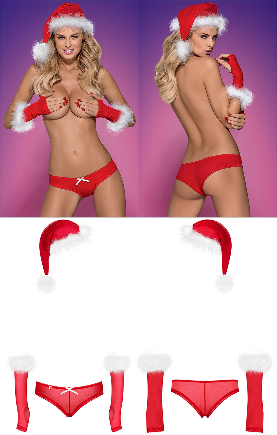Obsessive Merrily Christmas Set (L/XL)