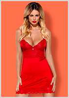 Obsessive Nuisette Lovica - Rouge (L/XL)