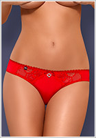 Obsessive Heartina Panty - Red (L/XL)
