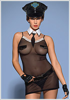 Obsessive Police Chemise Polizei-Kost�m (S/M)