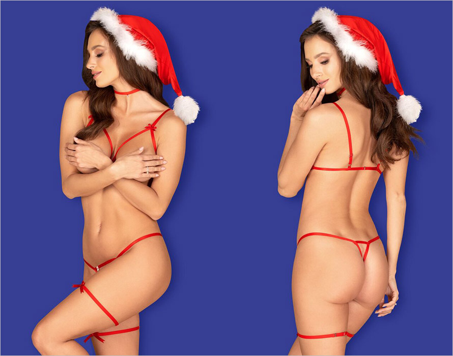 Obsessive Santasia Set - Red (S/L)