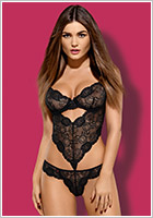 Obsessive Alluria Stringbody - Black (L/XL)
