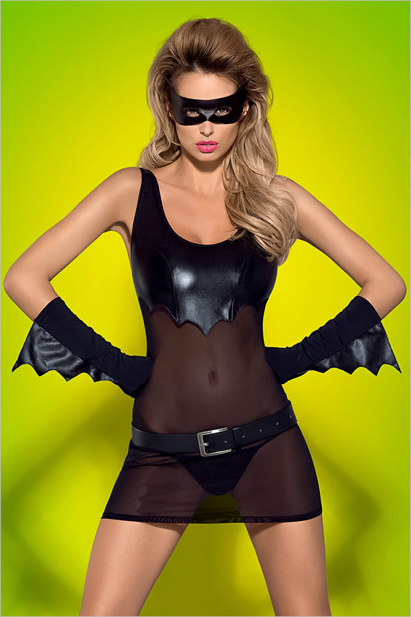 Obsessive Batty Batwoman Costume (L/XL)